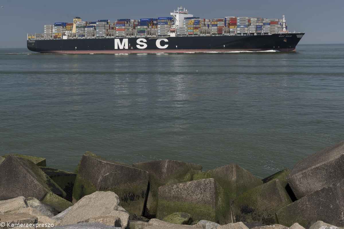 MSC Gaia Maasmond Maasvlakte 2 kameraexpreszo.nl rob wander fotografie keznl