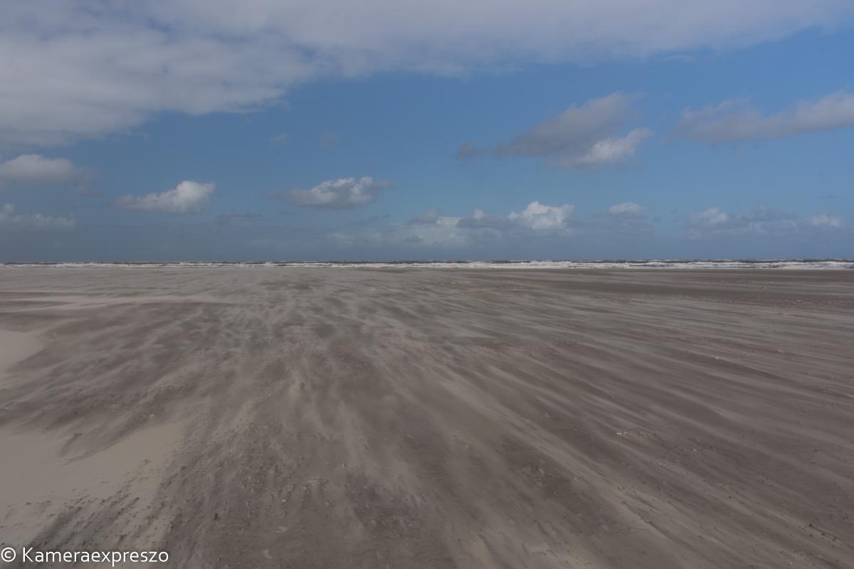 rob wander fotografie Schiermonnikoog waaiend zand vergezicht keznl